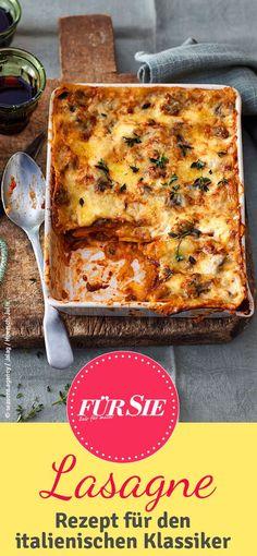 Rosin rezepte lasagne
