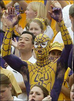 LSU Spiderman