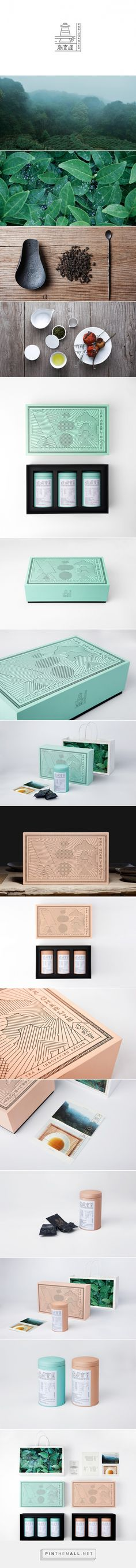 Tea Charlie packaging designed by YanYaoming - http://www.packagingoftheworld.com/2016/01/tea-charlie.html