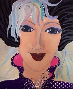 Figurative oil on canvas,by Britt BOUTROS Ghali www.brittbg.com