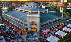 sabadell - plaça del mercat per Sant Jordi
