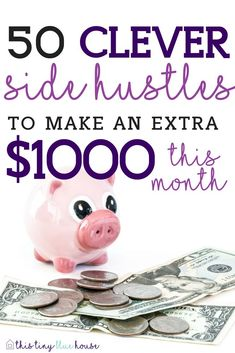Are you looking to supplement your monthly income? If so, here are 50 clever side hustle ideas that you can start right now to make at least $1000 per month.