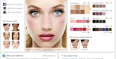 FabPhoto : du Maquillage photo en ligne pour du relooking virtuel