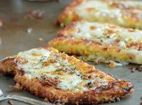 17 Day Diet Gal: Cauliflower Crust Garlic Breadsticks (C3, C1*, C2*)