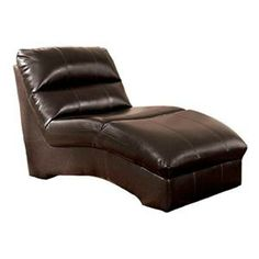 Chaise Lounge in Chocolate | Nebraska Furniture Mart