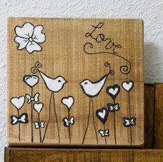 Chloe decoration # pallets #cuadro pajaros#bird pictures#
