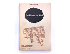 """Elaine Lustig paperback book cover design, 1959. """"The Disinherited Mind"""" by Erich Heller by NewDocuments on Etsy"""