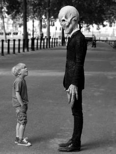 why do i have a picture of a little boy staring into space? #Silence