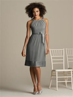 also thinking about grey bridesmaid dresses with blue accents