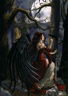 The Hells Blood Angel Valerikka The Maiden Of Lust Sister To  Adria The Maiden Of The Moon And Sister To Ravenna The Queen Of ravens