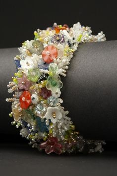 Vintage Floral Couture Cuff – ANDREA GUTIERREZ JEWELRY