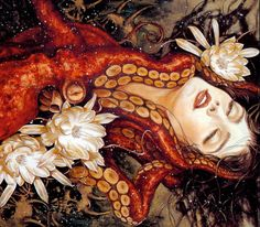 Let us not pretend I don't have a problem with cephalopod/female art.
