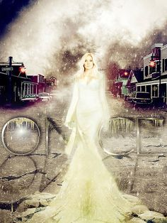 Once Upon a Time's version of the Snow Queen, as played by Elizabeth Mitchell