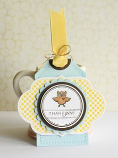 Thank you tags - Lime Doodle Design