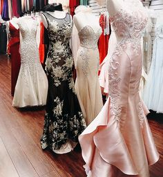 LA Fashion District Prom Dresses With Beading And Appliques