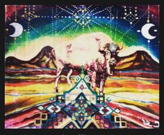 White Buffalo Sacred Moon, the Time Has Come to Swoon https://plus.google.com/+WhiteBuffaloCalfWomanTwinDeerMother/posts/56cw4YCFi7C Knews and Visions Circle with White Buffalo Calf Woman https://plus.google.com/u/0/communities/112647294491367091490 >>>------> Art work: White Buffalo Sacred Moon by Mariposa Galactica.
