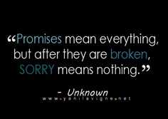Unless, of course, you promised someone you would apologize.  Then, even if you break your promise, you can say you're sorry and you've kept your promise.  MIND.  BLOWN.