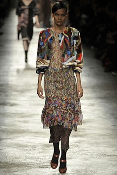Dries Van Noten | Fall 2008 Ready-to-Wear Collection | Style.com