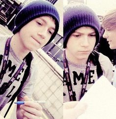 #NiallAppreciationDay [FETUS NIALL IN A BEANIE. CAN WE PLEASE TALK ABOUT THIS?!]