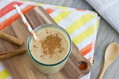 Pumpkin Spice Breakfast Shake. Skip the coffee and wake up with this powerful and healthy smoothie to begin your day!