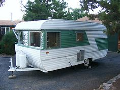 1961 Traveleze Trailer. Want this  one!
