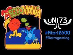 Eggomania (1982, U.S. Games) - Atari 2600 - Score 15602 (Novice)