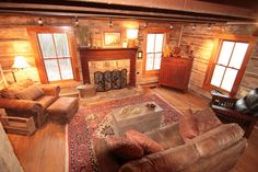 Eagles Nest at High Falls - Restoration Log Cabin Rentals