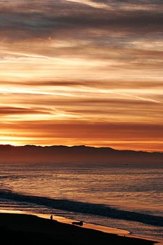 Sunsets over Monterey Bay are a highlight of a stay at Santa Cruz Dream Inn. #Jetsetter