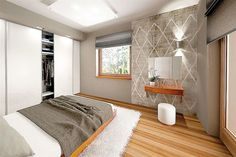 Projekt domu Sfinks VI 94,85 m2 - koszt budowy - EXTRADOM House Design Pictures, My House Plans, Bed & Bath, Shag Rug, Construction, Studio, Furniture, Home Decor, Costa Rica