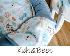 For unique babies-baby blankets, baby bedding. by KidsandBeesBaby Moses Basket, Unique Baby, Textile Design, My Works, Bassinet, Cribs, Nursery, Textiles, Baby Bedding