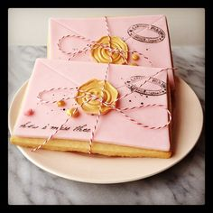 Pink Patisserie: Love Letters