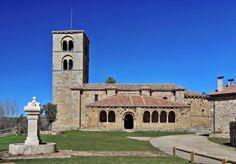 Jaramillo de la Fuente, Sierra de la Demanda - Iglesia románica de Nuestra Señora de la Asunción, joya del románico rural burgalés #jaramillo #románico #burgos #sierradelademanda