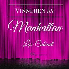 Er dere klare for å få vite vinneren av det lekre Manhattan Lux Cabinet skapet vårt? Trommeslag...................................... #classicliving