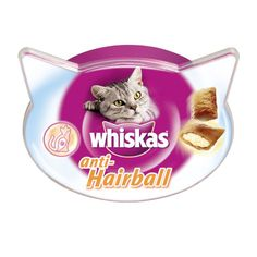Whiskas Anti-Hairball 8x60g