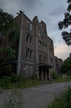 Dixmont State Hospital, in Pittsburgh, PA. Also known as Department of the Insane in the Western Pennsylvania Hospital of Pittsburgh.
