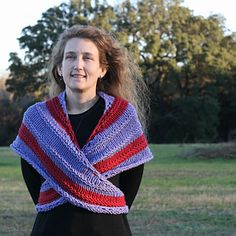 Here is a basic cross-over/tie in the back shawl that I just loved making. Its very much in the style of an old fashioned Sontag and ultra practical. When you have to hustle and bustle all day, you need a shawl that won't fall off.