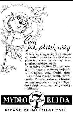 Mydło Elida 7 kwiatów - reklama prasowa, 1936 rok