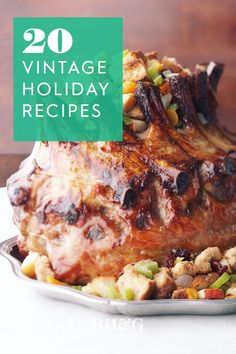 Let's revive those vintage Christmas dishes of the past. Prepare yourself for strong feelings of nostalgia and a growling stomach. Try one of these twists on the classics for Christmas dinner this year! #vintageholidayrecipes #christmasrecipes #vintagefood #holidayfoods #bhg