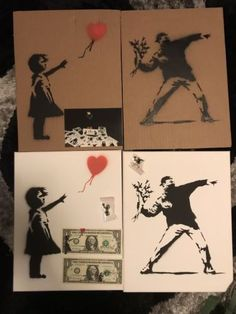Banksy Dismaland Souvenir /Dismal Pin Badges/ Dismal Land Dollars Banksy, Pin Badges, Cool Art, Cool Stuff, Ebay, Souvenir