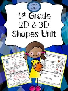 Differentiate your Shape Unit for 1st Graders includes:*Unit plan that is aligned to common core standards, includes I Can statements, has assessing/instruction ideas, and has technology links to pull from. *Tiered-3 level workshop game that supports learning on multiple levels to meet all the needs in your classroom.