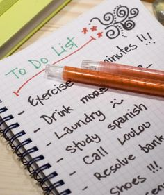Create effective to-do lists. | It's true: closets, desks, drawers, and countertops overflowing with clutter can cause stress and guilt. Here's how to get organized for greater efficiency and peace of mind.