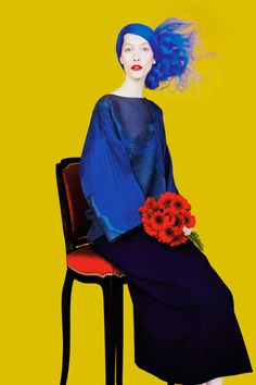 Numero Editorial September 2014 - Alana Zimmer by Erik Madigan Heck Foto Fashion, Fashion Art, High Fashion, Fashion Portraits, Editorial Photography, Fashion Photography, Modeling Photography, Lifestyle Photography, Elite Model