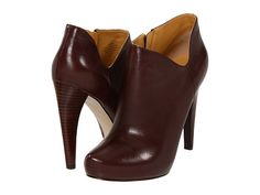 Nine West Cosy Dark Brown Leather - Zappos.com Free Shipping BOTH Ways