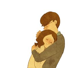 The perfect Puuung Cute Hug Animated GIF for your conversation. Discover and Share the best GIFs on Tenor. Art And Illustration, Illustrations, Cute Hug, Cute Love Gif, Love Cartoon Couple, Cute Couple Art, Puuung Love Is, Gif Lindos, Sketch Manga