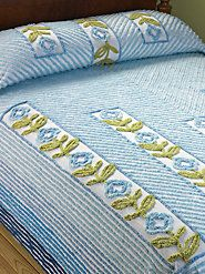 I LOVE this light weight Chenille bedspread :)