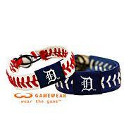 LOVE | Detroit Tigers Team Bracelet. want want want!!!