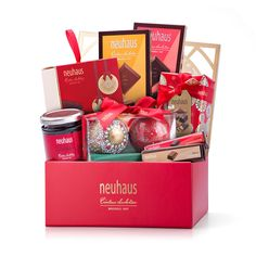 Spread holiday cheer this season with a unique Christmas gift that is as delicious as it is beautiful. A luxury Neuhaus gift box is filled with the best Christmas chocolate from Belgium.