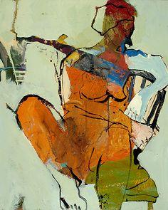 """Dwell"" by Linda Christensen  ~ 24 x 30"
