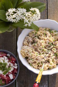 Tunfisch-Nudelsalat - lecker zum Grillen oder für lange Sommerabende