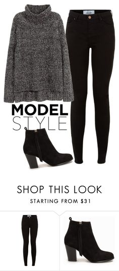 """simpl"" by thefashionguilty on Polyvore featuring moda, Nly Shoes y H&M"